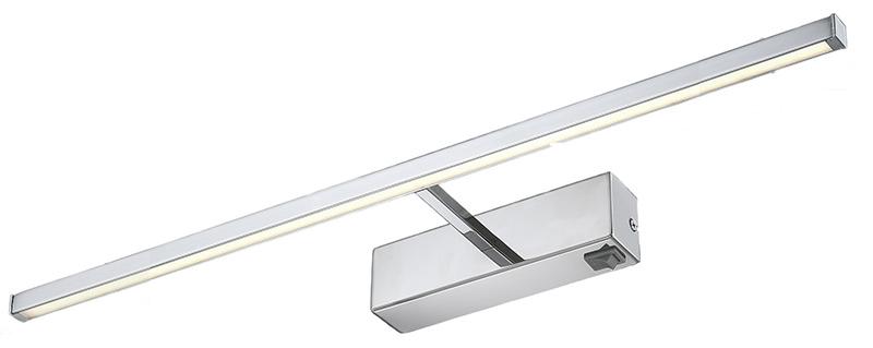 Светильник для картин или зеркал A5312AP-1CCДля картин и зеркал<br>A5312AP-1CC. Бренд - ARTE Lamp. тип лампы - LED. количество ламп - 1. мощность лампы - 12. цвет арматуры - хром. цвет плафона - хром. материал арматуры - металл. материал плафона - металл. высота - 80. ширина/диаметр - 130. длина - 600. степень защиты ip - 20. форма - прямоугольник. стиль - модерн. страна происхождения - Италия. цвет свечения - белый (теплый). коллекция - Picture Lights Led. напряжение - 220.<br><br>Бренд: ARTE Lamp<br>тип лампы: LED<br>количество ламп: 1<br>мощность лампы: 12<br>цвет арматуры: хром<br>цвет плафона: хром<br>материал арматуры: металл<br>материал плафона: металл<br>высота: 80<br>ширина/диаметр: 130<br>длина: 600<br>степень защиты ip: 20<br>форма: прямоугольник<br>стиль: модерн<br>страна происхождения: Италия<br>цвет свечения: белый (теплый)<br>коллекция: Picture Lights Led<br>напряжение: 220
