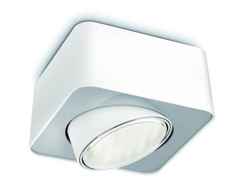 Точечный светильник 57950/31/16 Philipsнакладные<br>точечный потолочный. Бренд - Philips. материал плафона - металл. цвет плафона - белый. тип цоколя - GX53. тип лампы - галогеновая или LED. ширина/диаметр - 126. мощность - 8. количество ламп - 1.<br><br>популярные производители: Philips<br>материал плафона: металл<br>цвет плафона: белый<br>тип цоколя: GX53<br>тип лампы: галогеновая или LED<br>ширина/диаметр: 126<br>максимальная мощность лампочки: 8<br>количество лампочек: 1