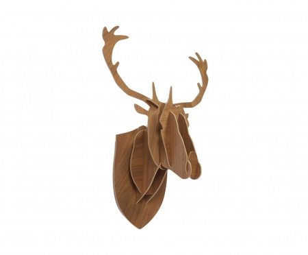 Декоративная голова оленя Brown Big DG-HOME от Дивайн Лайт