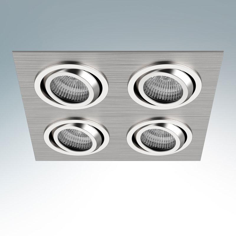 Точечный светильник 011604встраиваемые<br>011604 Светильник SINGO X4  MR16/HP16  АЛЮМИНИЙ ХРОМ. Бренд - Lightstar. тип лампы - галогеновая или LED. количество ламп - 3. тип цоколя - GU5.3. мощность лампы - 50. цвет арматуры - серый. цвет плафона - прозрачный. материал арматуры - металл. материал плафона - стекло. высота - 50. ширина/диаметр - 1000. длина - 2800. форма - квадрат. стиль - классический. страна происхождения - Китай. монтажное отверстие - 170. коллекция - SINGO X4. напряжение - 220.<br><br>Бренд: Lightstar<br>тип лампы: галогеновая или LED<br>количество ламп: 3<br>тип цоколя: GU5.3<br>мощность лампы: 50<br>цвет арматуры: серый<br>цвет плафона: прозрачный<br>материал арматуры: металл<br>материал плафона: стекло<br>высота: 50<br>ширина/диаметр: 1000<br>длина: 2800<br>форма: квадрат<br>стиль: классический<br>страна происхождения: Китай<br>монтажное отверстие: 170<br>коллекция: SINGO X4<br>напряжение: 220