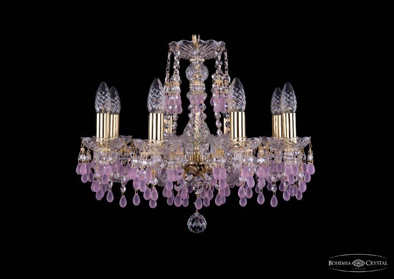 Потолочная люстра подвесная 1410/8/160/G/V7010 Bohemia Ivele Crystalподвесные<br>Люстра. Бренд - Bohemia Ivele Crystal. материал плафона - хрусталь. цвет плафона - розовый. тип цоколя - E14. тип лампы - накаливания или LED. ширина/диаметр - 510. мощность - 40. количество ламп - 8.<br><br>популярные производители: Bohemia Ivele Crystal<br>материал плафона: хрусталь<br>цвет плафона: розовый<br>тип цоколя: E14<br>тип лампы: накаливания или LED<br>ширина/диаметр: 510<br>максимальная мощность лампочки: 40<br>количество лампочек: 8