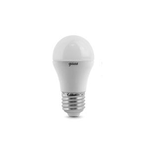 Лампа LED Globe E27 6.5W 100-240V 4100K 1/10/50 Gauss Gaussсветодиодные<br>Лампа LED Globe E27 6.5W 100-240V 4100K 1/10/50 Gauss. Бренд - Gauss. тип цоколя - E27. тип лампы - LED. ширина/диаметр - 45. мощность - 6.5.<br><br>популярные производители: Gauss<br>тип цоколя: E27<br>тип лампы: LED<br>ширина/диаметр: 45<br>максимальная мощность лампочки: 6.5