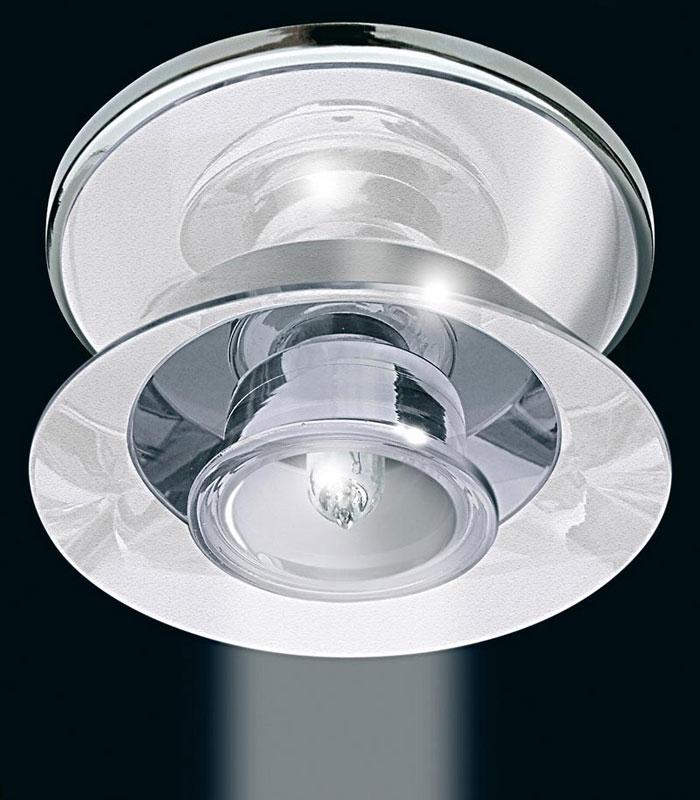Точечный светильник 1595CR Gumarcrisвстраиваемые<br>Светильник декоративный. Бренд - Gumarcris. материал плафона - стекло. цвет плафона - белый. тип цоколя - G9. тип лампы - галогеновая или LED. ширина/диаметр - 10. мощность - 60. количество ламп - 1.<br><br>популярные производители: Gumarcris<br>материал плафона: стекло<br>цвет плафона: белый<br>тип цоколя: G9<br>тип лампы: галогеновая или LED<br>ширина/диаметр: 10<br>максимальная мощность лампочки: 60<br>количество лампочек: 1