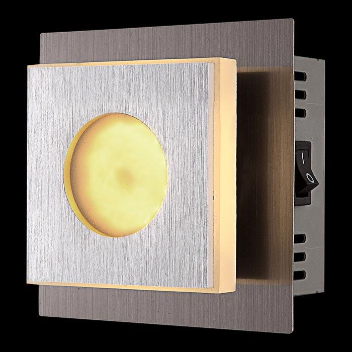 Бра 49208-1 GloboНастенные и бра<br>49208-1. Бренд - Globo. материал плафона - пластик. цвет плафона - белый. тип лампы - LED. ширина/диаметр - 100. мощность - 4. количество ламп - 1.<br><br>популярные производители: Globo<br>материал плафона: пластик<br>цвет плафона: белый<br>тип лампы: LED<br>ширина/диаметр: 100<br>максимальная мощность лампочки: 4<br>количество лампочек: 1