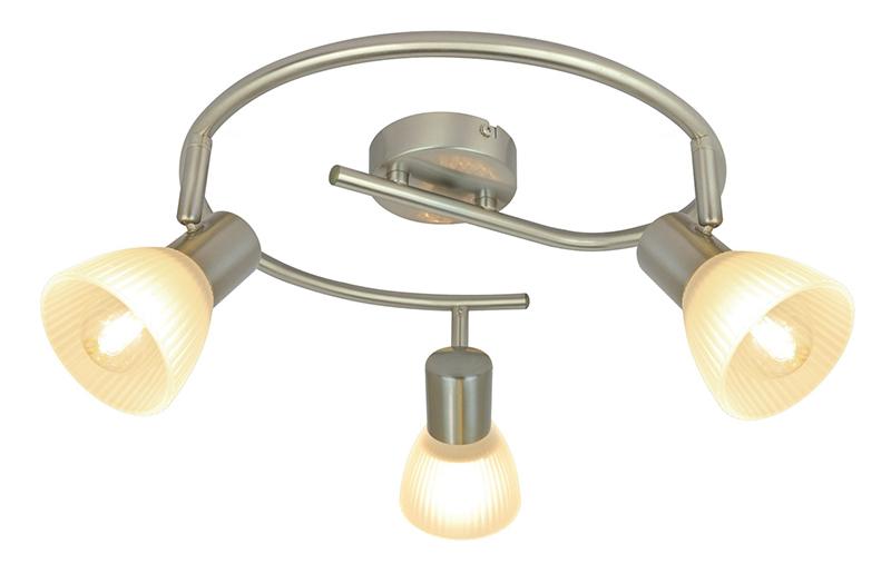 спот A5062PL-3SSСпоты<br>A5062PL-3SS. Бренд - ARTE Lamp. тип лампы - накаливания или LED. количество ламп - 3. тип цоколя - E14. мощность лампы - 40. цвет арматуры - хром матовый. цвет плафона - белый. материал арматуры - металл. материал плафона - стекло. высота - 180. ширина/диаметр - 420. длина - 420. степень защиты ip - 20. форма - круг. стиль - модерн. страна происхождения - Италия. коллекция - PARRY. напряжение - 220.<br><br>Бренд: ARTE Lamp<br>тип лампы: накаливания или LED<br>количество ламп: 3<br>тип цоколя: E14<br>мощность лампы: 40<br>цвет арматуры: хром матовый<br>цвет плафона: белый<br>материал арматуры: металл<br>материал плафона: стекло<br>высота: 180<br>ширина/диаметр: 420<br>длина: 420<br>степень защиты ip: 20<br>форма: круг<br>стиль: модерн<br>страна происхождения: Италия<br>коллекция: PARRY<br>напряжение: 220