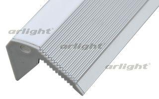 алюминиевый профиль 016148 Arlightпрофили<br>Накладной на ступеньки профиль для лент шириной до 12мм. Анодированный алюминий. Подходят Экран ARH-FLAT-2000, заглушки правая, левая (отдельно). Размеры 2000х49х26,7 мм (накладная часть на ступеньку 30мм). Цена за 1м.. Бренд - Arlight. ширина/диаметр - 49.<br><br>популярные производители: Arlight<br>ширина/диаметр: 49