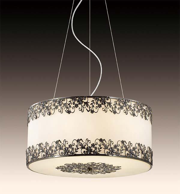 Потолочная люстра подвесная 2718/6  Odeon Lightподвесные<br>2718/6 ODL15 416 стекло/декор.бронз Подвес G9 6*40W 220V INES. Бренд - Odeon Light. материал плафона - стекло. цвет плафона - белый. тип цоколя - G9. тип лампы - галогеновая или LED. ширина/диаметр - 480. мощность - 40. количество ламп - 6.<br><br>популярные производители: Odeon Light<br>материал плафона: стекло<br>цвет плафона: белый<br>тип цоколя: G9<br>тип лампы: галогеновая или LED<br>ширина/диаметр: 480<br>максимальная мощность лампочки: 40<br>количество лампочек: 6
