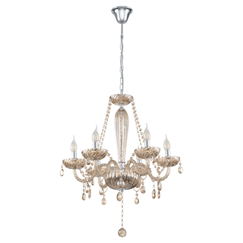 Потолочная люстра подвесная 39092 EGLOподвесные<br>Люстра BASILANO, 6х40W (Е14), стекло/коньяк. Бренд - EGLO. материал плафона - стекло. цвет плафона - бежевый. тип цоколя - E14. тип лампы - накаливания или LED. ширина/диаметр - 720. мощность - 40. количество ламп - 6.<br><br>популярные производители: EGLO<br>материал плафона: стекло<br>цвет плафона: бежевый<br>тип цоколя: E14<br>тип лампы: накаливания или LED<br>ширина/диаметр: 720<br>максимальная мощность лампочки: 40<br>количество лампочек: 6