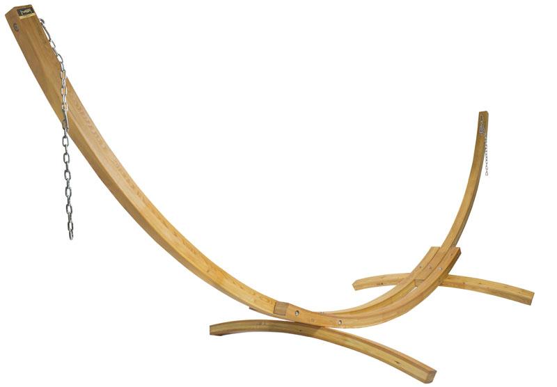 Универсальная стойка для гамаков из дерева WHS-01 natural Milli от Дивайн Лайт
