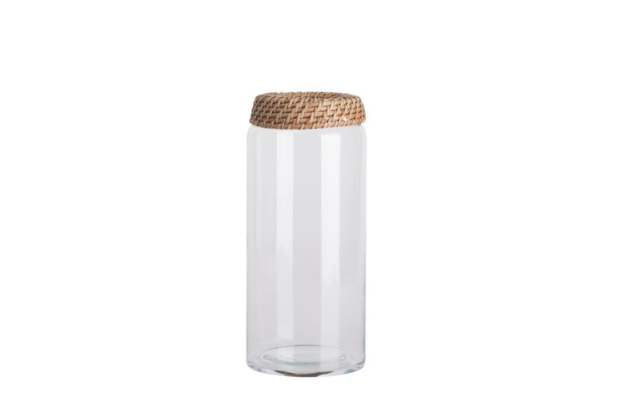 Емкость для хранения Panier Grande DG-HOMEДекоративные предметы хранения<br>. Бренд - DG-HOME. ширина/диаметр - 260. материал - Стекло, Металл. цвет - прозрачный, коричневый.<br><br>популярные производители: DG-HOME<br>ширина/диаметр: 260<br>материал: Стекло, Металл<br>цвет: прозрачный, коричневый