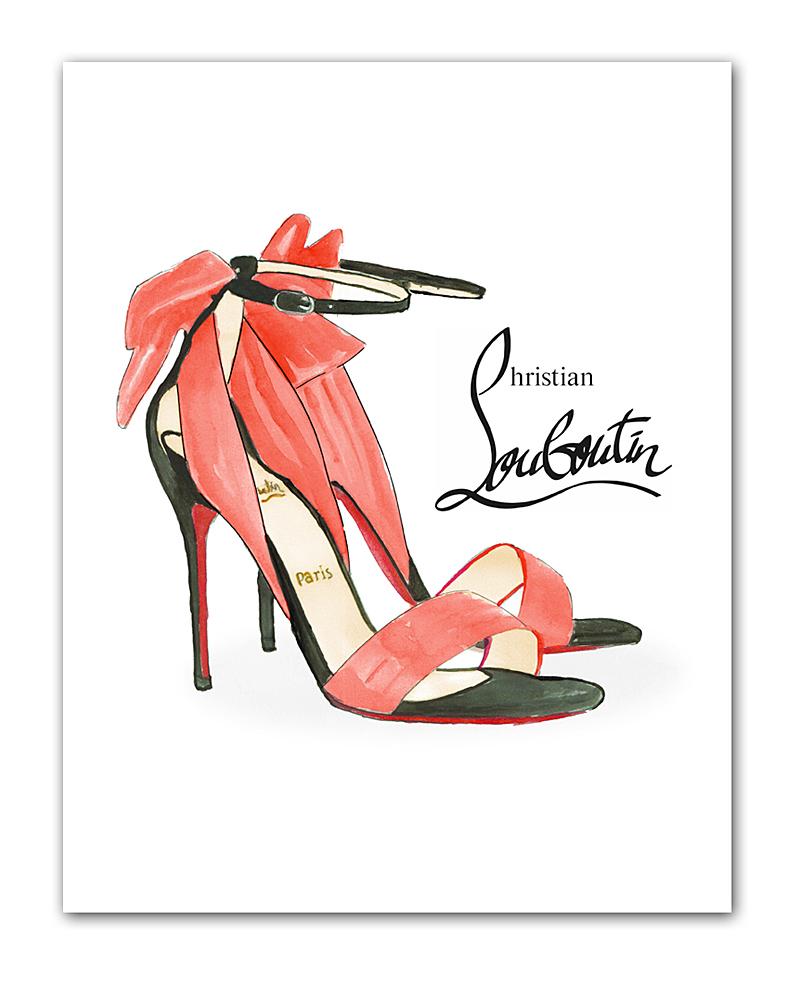 Постер Louboutin А4 DG-HOME от Дивайн Лайт