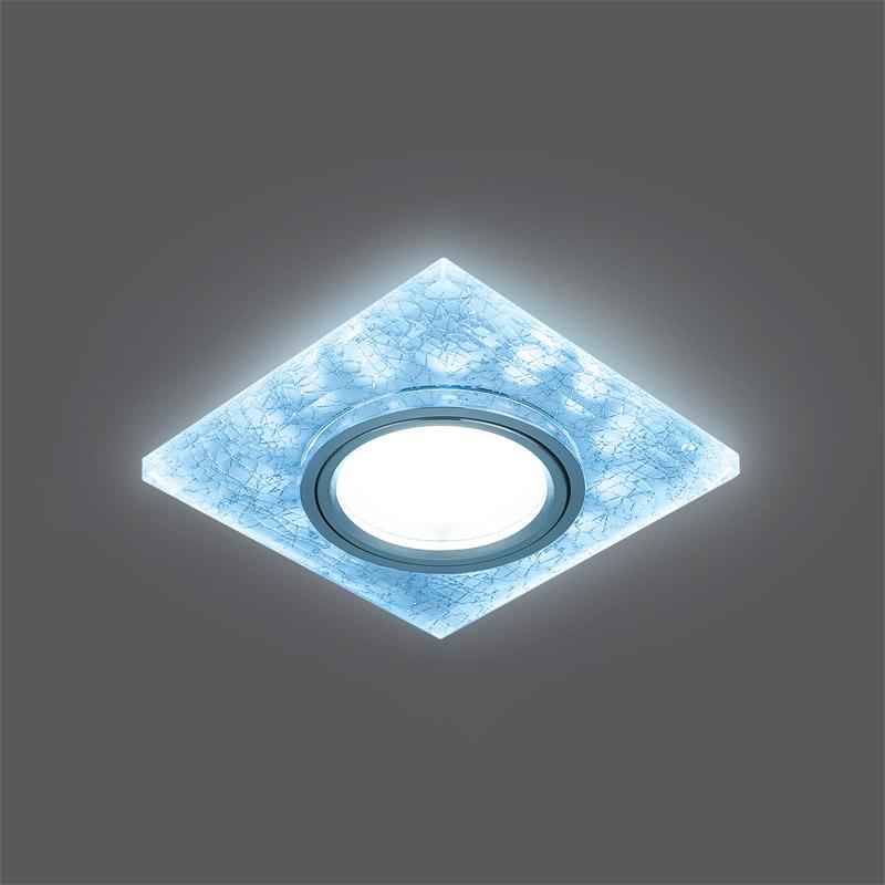 Точечный светильник BL065встраиваемые<br>Светильник Gauss Backlight BL065 Квадрат. Белый/Серебро/Хром, Gu5.3, LED 4100K 1/40. Бренд - Gauss. тип лампы - галогеновая или LED. количество ламп - 1. тип цоколя - GU5.3. мощность лампы - 50. цвет арматуры - хром. цвет плафона - белый. материал арматуры - металл. материал плафона - стекло. высота - 25. ширина/диаметр - 90. длина - 90. степень защиты ip - 20. форма - круг. стиль - модерн. страна происхождения - Китай. монтажное отверстие - 65. коллекция - Backlight. напряжение - 220.<br><br>Бренд: Gauss<br>тип лампы: галогеновая или LED<br>количество ламп: 1<br>тип цоколя: GU5.3<br>мощность лампы: 50<br>цвет арматуры: хром<br>цвет плафона: белый<br>материал арматуры: металл<br>материал плафона: стекло<br>высота: 25<br>ширина/диаметр: 90<br>длина: 90<br>степень защиты ip: 20<br>форма: круг<br>стиль: модерн<br>страна происхождения: Китай<br>монтажное отверстие: 65<br>коллекция: Backlight<br>напряжение: 220