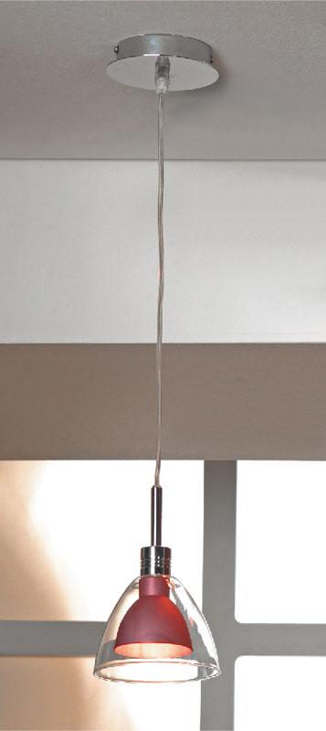 Подвесной  потолочный светильник LSF-0706-01 Lussoleподвесные<br>LSF-0706-01. Бренд - Lussole. материал плафона - стекло. цвет плафона - красный. тип цоколя - G9. тип лампы - галогеновая или LED. ширина/диаметр - 130. мощность - 40. количество ламп - 1.<br><br>популярные производители: Lussole<br>материал плафона: стекло<br>цвет плафона: красный<br>тип цоколя: G9<br>тип лампы: галогеновая или LED<br>ширина/диаметр: 130<br>максимальная мощность лампочки: 40<br>количество лампочек: 1