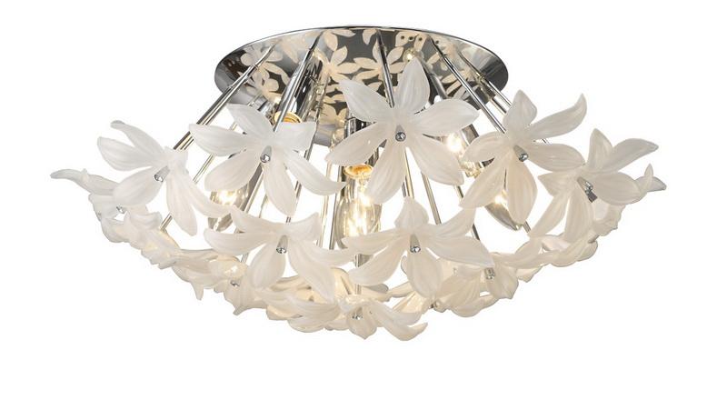 Потолочная люстра накладная 1318-7U Favouriteнакладные<br>потолочный. Бренд - Favourite. материал плафона - пластик. цвет плафона - белый. тип цоколя - E14. тип лампы - накаливания или LED. ширина/диаметр - 550. мощность - 40. количество ламп - 7. особенности - Дизайнерская люстра накладная.<br><br>популярные производители: Favourite<br>материал плафона: пластик<br>цвет плафона: белый<br>тип цоколя: E14<br>тип лампы: накаливания или LED<br>ширина/диаметр: 550<br>максимальная мощность лампочки: 40<br>количество лампочек: 7<br>особенности: Дизайнерская люстра накладная