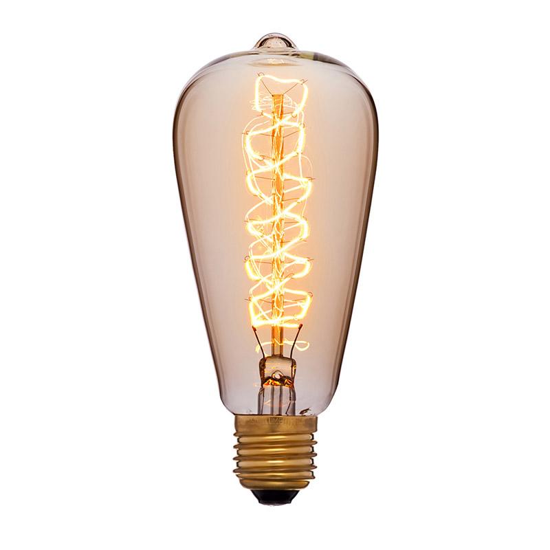 051-927 SUN-LUMENретро лампы<br>051-927. Бренд - SUN-LUMEN. тип цоколя - E27. тип лампы - накаливания или LED. ширина/диаметр - 64. мощность - 40.<br><br>популярные производители: SUN-LUMEN<br>тип цоколя: E27<br>тип лампы: накаливания или LED<br>ширина/диаметр: 64<br>максимальная мощность лампочки: 40