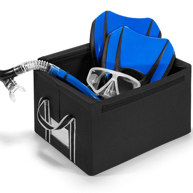 Коробка для хранения storagebox s black Fine DesignДекоративные предметы хранения<br>. Бренд - Fine Design. материал - Полиэстер.<br><br>популярные производители: Fine Design<br>материал: Полиэстер