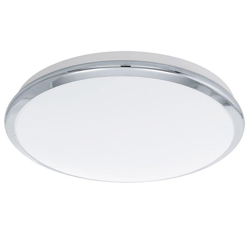 Накладной потолочный светильник 93497 EGLOнакладные<br>Светодиодный светильник настенно-потолочный MANILVA, 16W (LED), ?385, хром/пластик. Бренд - EGLO. материал плафона - пластик. цвет плафона - белый. тип лампы - LED. ширина/диаметр - 385. мощность - 18.<br><br>популярные производители: EGLO<br>материал плафона: пластик<br>цвет плафона: белый<br>тип лампы: LED<br>ширина/диаметр: 385<br>максимальная мощность лампочки: 18