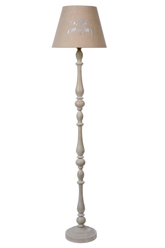 Светильник напольный 71736/81/41 LUCIDEТоршеры и напольные светильники<br>ROBIN Floor Lamp E27 H150cm Shade 40-21-25cm Taupe. Бренд - LUCIDE. материал плафона - ткань. цвет плафона - коричневый. тип цоколя - E27. тип лампы - накаливания или LED. ширина/диаметр - 400. мощность - 18. количество ламп - 1.<br><br>популярные производители: LUCIDE<br>материал плафона: ткань<br>цвет плафона: коричневый<br>тип цоколя: E27<br>тип лампы: накаливания или LED<br>ширина/диаметр: 400<br>максимальная мощность лампочки: 18<br>количество лампочек: 1