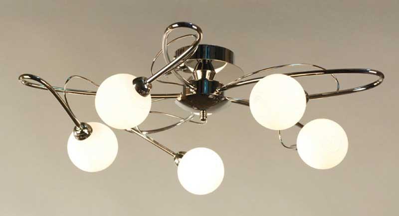 Потолочная люстра накладная CL215151 Citiluxнакладные<br>CL215151 Потолочная люстра Монка CL215151. Бренд - Citilux. материал плафона - стекло. цвет плафона - белый. тип цоколя - G9. тип лампы - галогеновая или LED. ширина/диаметр - 600. мощность - 40. количество ламп - 5.<br><br>популярные производители: Citilux<br>материал плафона: стекло<br>цвет плафона: белый<br>тип цоколя: G9<br>тип лампы: галогеновая или LED<br>ширина/диаметр: 600<br>максимальная мощность лампочки: 40<br>количество лампочек: 5
