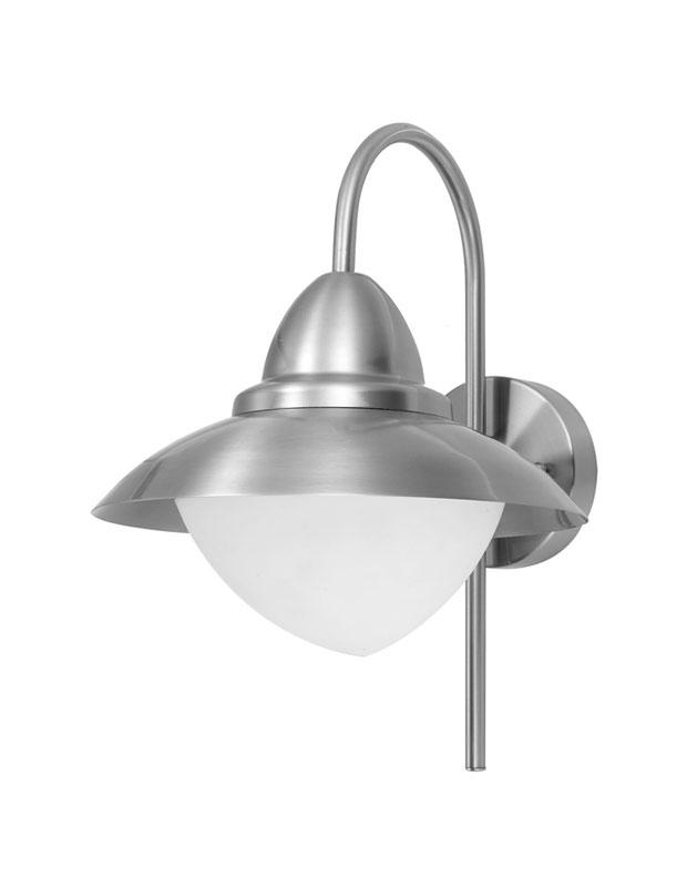 Светильник настенный 83966 EGLOНастенные<br>Уличный светильник настенный SIDNEY, 1X60W (E27), нерж сталь/матовое стекло. Бренд - EGLO. материал плафона - стекло. цвет плафона - белый. тип цоколя - E27. тип лампы - накаливания или LED. ширина/диаметр - 275. мощность - 60. количество ламп - 1.<br><br>популярные производители: EGLO<br>материал плафона: стекло<br>цвет плафона: белый<br>тип цоколя: E27<br>тип лампы: накаливания или LED<br>ширина/диаметр: 275<br>максимальная мощность лампочки: 60<br>количество лампочек: 1