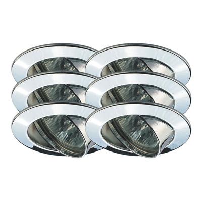 Точечный светильник 99476 Paulmannвстраиваемые<br>Светильник поворотный Цинк, 51мм, 6х35W  . Бренд - Paulmann. материал плафона - стекло. цвет плафона - прозрачный. тип цоколя - GU5.3. тип лампы - галогеновая или LED. ширина/диаметр - 83. мощность - 35. количество ламп - 6.<br><br>популярные производители: Paulmann<br>материал плафона: стекло<br>цвет плафона: прозрачный<br>тип цоколя: GU5.3<br>тип лампы: галогеновая или LED<br>ширина/диаметр: 83<br>максимальная мощность лампочки: 35<br>количество лампочек: 6