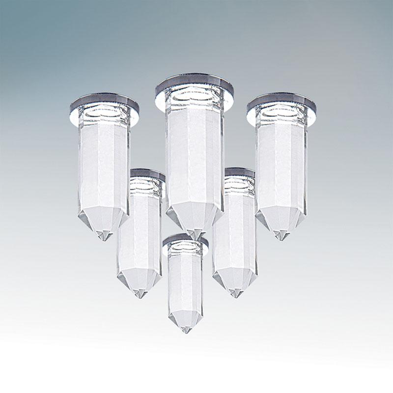 Точечный светильник 079064 Lightstarвстраиваемые<br>079064 Светильник NUBELLA  LED 0,7WХ6 ХРОМ. Бренд - Lightstar. материал плафона - стекло. цвет плафона - прозрачный. тип лампы - LED. ширина/диаметр - 15. мощность - 0.7. количество ламп - 6.<br><br>популярные производители: Lightstar<br>материал плафона: стекло<br>цвет плафона: прозрачный<br>тип лампы: LED<br>ширина/диаметр: 15<br>максимальная мощность лампочки: 0.7<br>количество лампочек: 6
