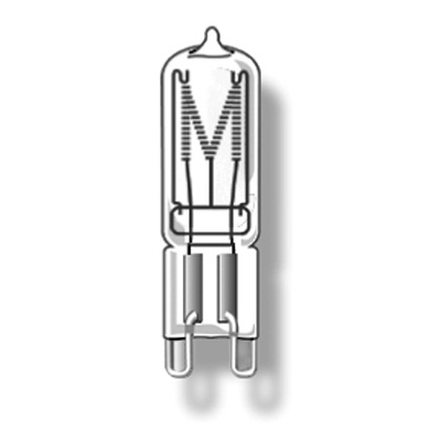 Лампа G9 230V 18W прозрачная Duralamp от Дивайн Лайт