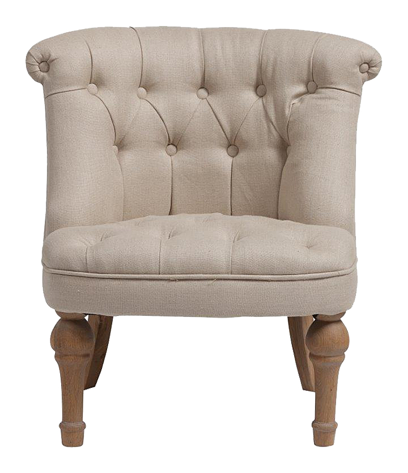 Кресло Sophie Tufted Slipper Chair Молочный Лен DG-HOMEКресла<br>. Бренд - DG-HOME. ширина/диаметр - 16. материал - дерево, ткань, поролон.<br><br>популярные производители: DG-HOME<br>ширина/диаметр: 16<br>материал: дерево, ткань, поролон