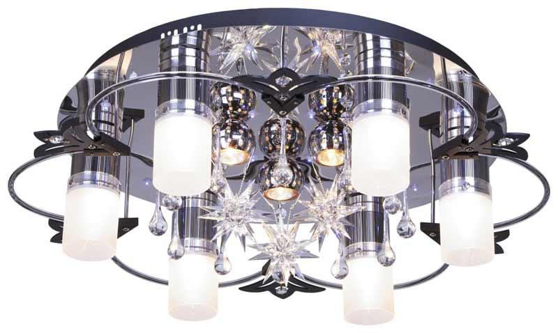 Потолочная люстра накладная 175-207-09 VELANTEнакладные<br>потолочный. Бренд - VELANTE. материал плафона - стекло. цвет плафона - белый. тип цоколя - E27. тип лампы - накаливания или LED. ширина/диаметр - 650. мощность - 20. количество ламп - 9. особенности - Дизайнерская люстра накладная.<br><br>популярные производители: VELANTE<br>материал плафона: стекло<br>цвет плафона: белый<br>тип цоколя: E27<br>тип лампы: накаливания или LED<br>ширина/диаметр: 650<br>максимальная мощность лампочки: 20<br>количество лампочек: 9<br>особенности: Дизайнерская люстра накладная