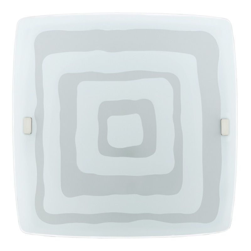 Накладной потолочный светильник 93284 EGLOнакладные<br>Светодиодный светильник настенно-потолочный LED BORGO, 24W (LED), 410х410, сатиновое стекло с декором. Бренд - EGLO. материал плафона - стекло. цвет плафона - белый. тип лампы - LED. ширина/диаметр - 410. мощность - 24.<br><br>популярные производители: EGLO<br>материал плафона: стекло<br>цвет плафона: белый<br>тип лампы: LED<br>ширина/диаметр: 410<br>максимальная мощность лампочки: 24