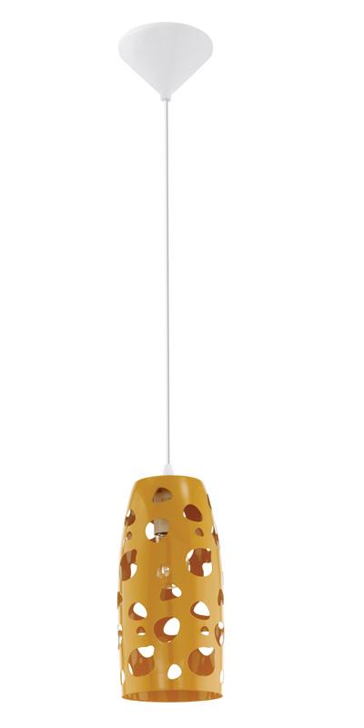 Подвесной  потолочный светильник 31639 EGLOподвесные<br>Подвес MANZANA, 1х60W (E27), сталь/оранжевый. Бренд - EGLO. материал плафона - металл. цвет плафона - оранжевый. тип цоколя - E27. тип лампы - накаливания или LED. ширина/диаметр - 135. мощность - 60. количество ламп - 1.<br><br>популярные производители: EGLO<br>материал плафона: металл<br>цвет плафона: оранжевый<br>тип цоколя: E27<br>тип лампы: накаливания или LED<br>ширина/диаметр: 135<br>максимальная мощность лампочки: 60<br>количество лампочек: 1