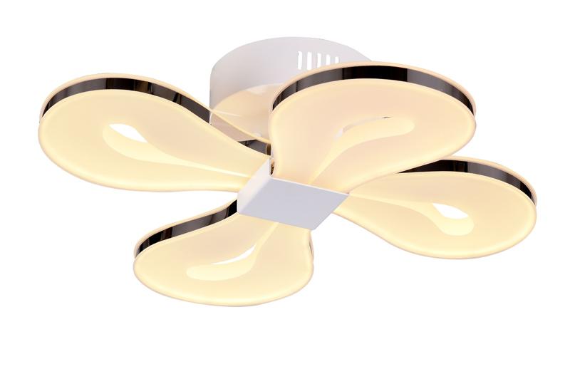 Накладной потолочный светильник SL862.502.04 ST-Luceнакладные<br>Светильник потолочный. Бренд - ST-Luce. материал плафона - пластик. цвет плафона - белый. тип лампы - LED. ширина/диаметр - 600. мощность - 16. количество ламп - 4.<br><br>популярные производители: ST-Luce<br>материал плафона: пластик<br>цвет плафона: белый<br>тип лампы: LED<br>ширина/диаметр: 600<br>максимальная мощность лампочки: 16<br>количество лампочек: 4