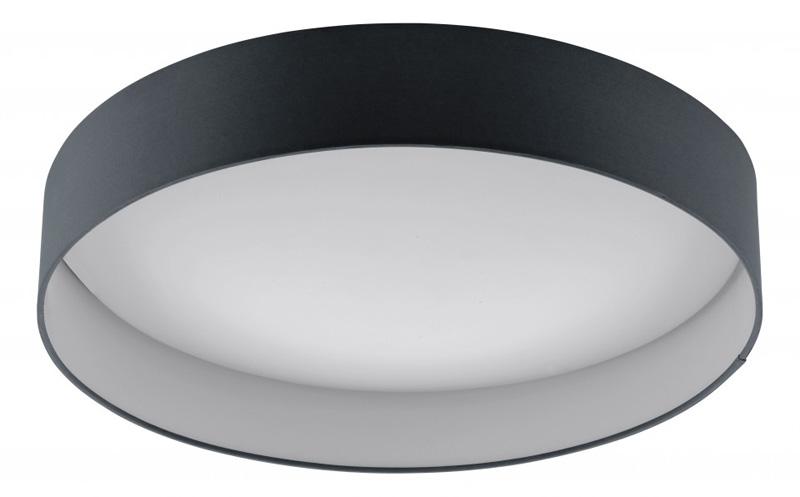 Потолочная люстра накладная 93397 EGLOнакладные<br>Светодиодная люстра PALOMARO, 24W (LED), ?500, пластик/текстиль антрацит. Бренд - EGLO. материал плафона - ткань. цвет плафона - черный. тип лампы - LED. ширина/диаметр - 500. мощность - 24.<br><br>популярные производители: EGLO<br>материал плафона: ткань<br>цвет плафона: черный<br>тип лампы: LED<br>ширина/диаметр: 500<br>максимальная мощность лампочки: 24