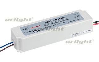блок питания DC 018983 Arlightблоки питания DC<br>Блок питания 24V, ток 4.2А, 100Вт. Герметичный пластиковый корпус IP67, для светодиодных изделий. Вход 100-240V AC, выход 24V DC +-5%. Размеры 190x52x37mm. Гарантия 2 года. Бренд - Arlight. ширина/диаметр - 52. мощность - 100.<br><br>популярные производители: Arlight<br>ширина/диаметр: 52<br>максимальная мощность лампочки: 100