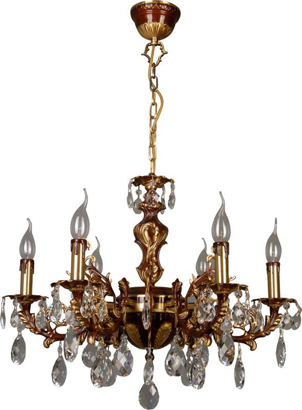 Потолочная люстра подвесная 305-06-52 N-Lightподвесные<br>Бронза+хрусталь;E14*60W6x60W, E14, 230V <br>D=620mm <br>H=390mm. Бренд - N-Light. тип цоколя - E14. тип лампы - накаливания или LED. ширина/диаметр - 620. мощность - 60. количество ламп - 6.<br><br>популярные производители: N-Light<br>тип цоколя: E14<br>тип лампы: накаливания или LED<br>ширина/диаметр: 620<br>максимальная мощность лампочки: 60<br>количество лампочек: 6