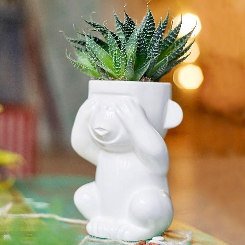 Горшок для растений eco слепыш Fine Design