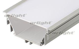 алюминиевый профиль 016472 Arlightпрофили<br>Алюминиевый встраиваемый профиль POWER. Длина 2м, в комплекте с матовым экраном. Для создания световых полос и светильников. Материал экрана - PC, UV-защитный, ударопрочный. Размеры 92х40 мм, размер для встройки - 80мм. Бренд - Arlight. ширина/диаметр - 92.<br><br>популярные производители: Arlight<br>ширина/диаметр: 92
