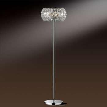 Светильник напольный 1606/6F Odeon LightТоршеры и напольные светильники<br>1606/6F ODL11 593 хром Торшер  G9 6*40W 220V CRISTA. Бренд - Odeon Light. материал плафона - хрусталь. цвет плафона - прозрачный. тип цоколя - G9. тип лампы - галогеновая или LED. ширина/диаметр - 400. мощность - 40. количество ламп - 6.<br><br>популярные производители: Odeon Light<br>материал плафона: хрусталь<br>цвет плафона: прозрачный<br>тип цоколя: G9<br>тип лампы: галогеновая или LED<br>ширина/диаметр: 400<br>максимальная мощность лампочки: 40<br>количество лампочек: 6