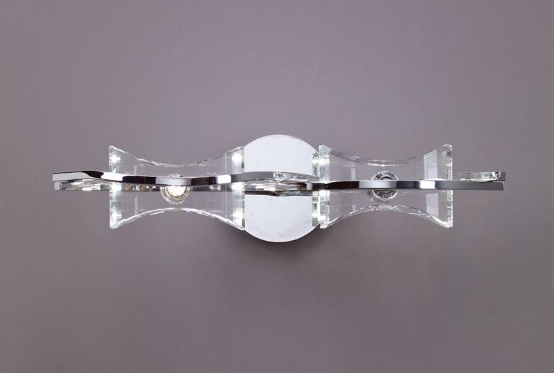 Бра 0893 MantraНастенные и бра<br>WALL LAMP 2L. Бренд - Mantra. материал плафона - стекло. цвет плафона - прозрачный. тип цоколя - G9. тип лампы - галогеновая или LED. ширина/диаметр - 170. мощность - 40. количество ламп - 2.<br><br>популярные производители: Mantra<br>материал плафона: стекло<br>цвет плафона: прозрачный<br>тип цоколя: G9<br>тип лампы: галогеновая или LED<br>ширина/диаметр: 170<br>максимальная мощность лампочки: 40<br>количество лампочек: 2