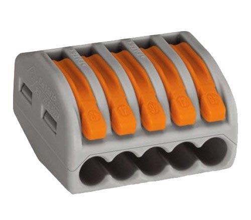 Клемма 5x0.08-2.5мм (222-415) WAGO от Дивайн Лайт