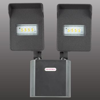 Novotech 357218 NT15 033 чёрный Настенный светильник IP54 8LED 2*10W 220V TITAN