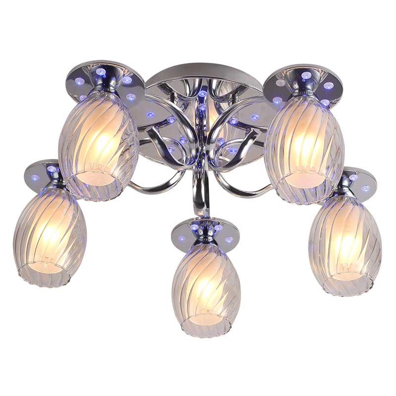 Потолочная люстра накладная 202/5PF-Chrome IDLampнакладные<br>Потолочный. Бренд - IDLamp. материал плафона - стекло. цвет плафона - прозрачный. тип цоколя - E14. тип лампы - накаливания или LED. ширина/диаметр - 500. мощность - 60. количество ламп - 5.<br><br>популярные производители: IDLamp<br>материал плафона: стекло<br>цвет плафона: прозрачный<br>тип цоколя: E14<br>тип лампы: накаливания или LED<br>ширина/диаметр: 500<br>максимальная мощность лампочки: 60<br>количество лампочек: 5