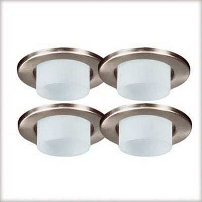 Точечный светильник 98874 Paulmannвстраиваемые<br>Светильник декоцилиндр,  -сатин, 4х20W      . Бренд - Paulmann. материал плафона - стекло. цвет плафона - белый. тип цоколя - GU5.3. тип лампы - галогеновая или LED. ширина/диаметр - 83. мощность - 20. количество ламп - 4.<br><br>популярные производители: Paulmann<br>материал плафона: стекло<br>цвет плафона: белый<br>тип цоколя: GU5.3<br>тип лампы: галогеновая или LED<br>ширина/диаметр: 83<br>максимальная мощность лампочки: 20<br>количество лампочек: 4