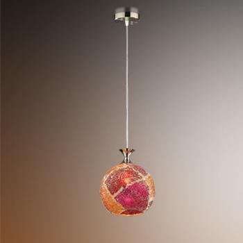 Подвесной  потолочный светильник 2093/1A Odeon Lightподвесные<br>2093/1A ODL11 653 хром/мозаика Подвес  E27 60W 220V TERRO. Бренд - Odeon Light. материал плафона - стекло. цвет плафона - разноцветный. тип цоколя - E27. тип лампы - галогеновая или LED. ширина/диаметр - 200. мощность - 60. количество ламп - 1.<br><br>популярные производители: Odeon Light<br>материал плафона: стекло<br>цвет плафона: разноцветный<br>тип цоколя: E27<br>тип лампы: галогеновая или LED<br>ширина/диаметр: 200<br>максимальная мощность лампочки: 60<br>количество лампочек: 1