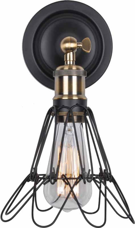 Бра LSP-9109 LOFTНастенные и бра<br>LSP-9109. Бренд - LOFT. тип цоколя - E27. тип лампы - накаливания или LED. ширина/диаметр - 110. мощность - 60. количество ламп - 1.<br><br>популярные производители: LOFT<br>тип цоколя: E27<br>тип лампы: накаливания или LED<br>ширина/диаметр: 110<br>максимальная мощность лампочки: 60<br>количество лампочек: 1
