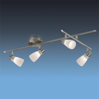 спот 2066/4C Odeon LightСпоты<br>2066/4C ODL11 747 матовый никель Система  G9 4*40W 220V TERZA. Бренд - Odeon Light. материал плафона - стекло. цвет плафона - белый. тип цоколя - G9. тип лампы - галогеновая или LED. ширина/диаметр - 320. мощность - 40. количество ламп - 4.<br><br>популярные производители: Odeon Light<br>материал плафона: стекло<br>цвет плафона: белый<br>тип цоколя: G9<br>тип лампы: галогеновая или LED<br>ширина/диаметр: 320<br>максимальная мощность лампочки: 40<br>количество лампочек: 4