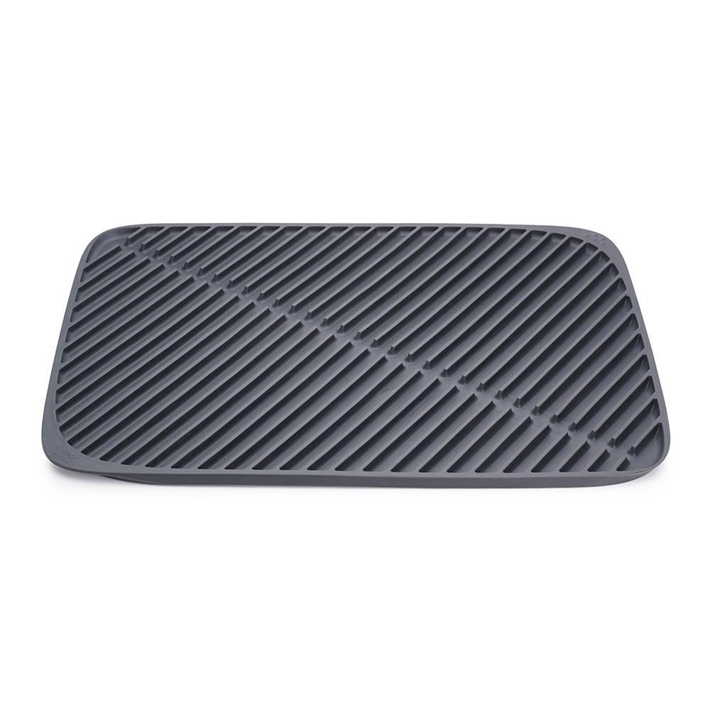 Коврик для сушки посуды flume™ большой серый Fine DesignХранение и порядок<br>. Бренд - Fine Design. материал - термопластичная резина.<br><br>популярные производители: Fine Design<br>материал: термопластичная резина
