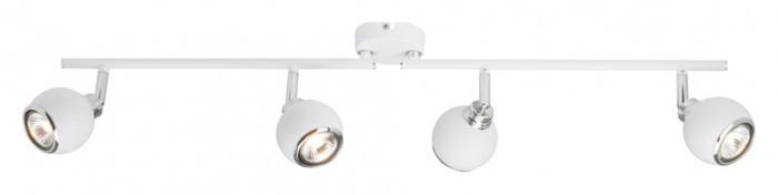спот G07732_05 BrilliantСпоты<br>G07732_05 Спот Ina G07732_05. Бренд - Brilliant. материал плафона - металл. цвет плафона - белый. тип цоколя - GU10. тип лампы - галогеновая или LED. ширина/диаметр - 95. мощность - 28. количество ламп - 4.<br><br>популярные производители: Brilliant<br>материал плафона: металл<br>цвет плафона: белый<br>тип цоколя: GU10<br>тип лампы: галогеновая или LED<br>ширина/диаметр: 95<br>максимальная мощность лампочки: 28<br>количество лампочек: 4