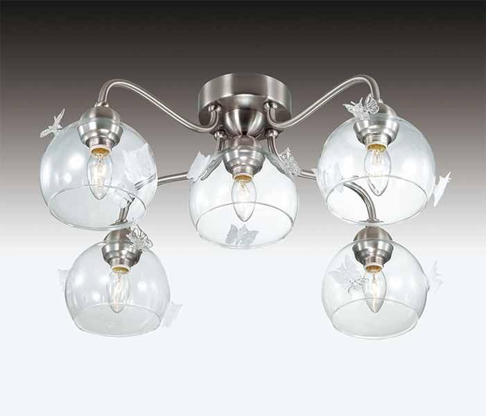 Потолочная люстра накладная 2764/5C  Odeon Lightнакладные<br>2764/5C ODL15 672 никель/ декор.стекло бел Люстра потолочная E14 5*40W 220V MELETA. Бренд - Odeon Light. материал плафона - стекло. цвет плафона - прозрачный. тип цоколя - E14. тип лампы - галогеновая или LED. ширина/диаметр - 630. мощность - 40. количество ламп - 5.<br><br>популярные производители: Odeon Light<br>материал плафона: стекло<br>цвет плафона: прозрачный<br>тип цоколя: E14<br>тип лампы: галогеновая или LED<br>ширина/диаметр: 630<br>максимальная мощность лампочки: 40<br>количество лампочек: 5