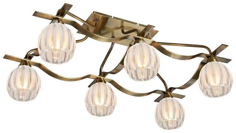 Потолочная люстра накладная 281-507-06 VELANTEнакладные<br>потолочный. Бренд - VELANTE. материал плафона - стекло. цвет плафона - прозрачный. тип цоколя - E14. тип лампы - накаливания или LED. ширина/диаметр - 440. мощность - 40. количество ламп - 6.<br><br>популярные производители: VELANTE<br>материал плафона: стекло<br>цвет плафона: прозрачный<br>тип цоколя: E14<br>тип лампы: накаливания или LED<br>ширина/диаметр: 440<br>максимальная мощность лампочки: 40<br>количество лампочек: 6
